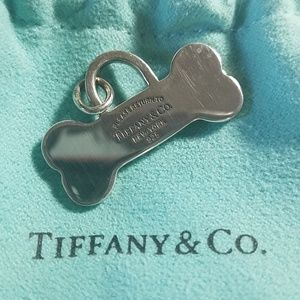 Rare Tiffany and Co. Dog Bone Charm w/o Chain